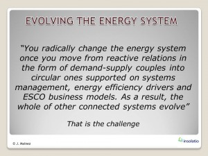 Evolving the energy system